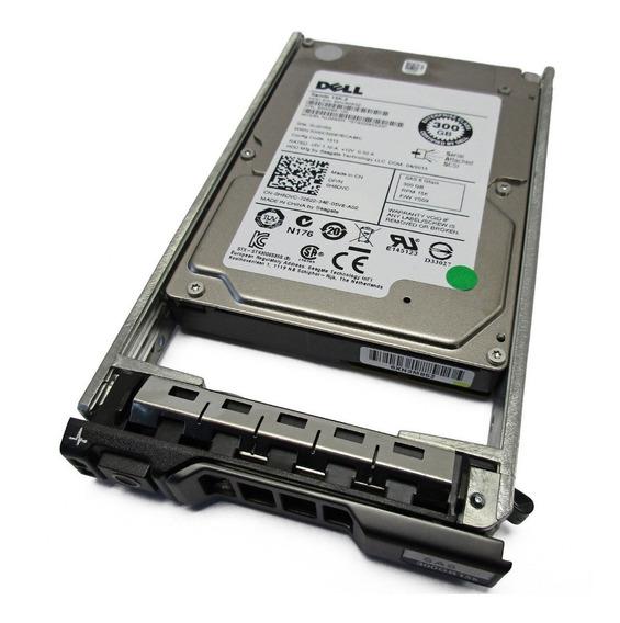 Hd Sas Dell 300gb 2.5 15k 6gbs 0h8dvc C/gaveta Nf Garantia