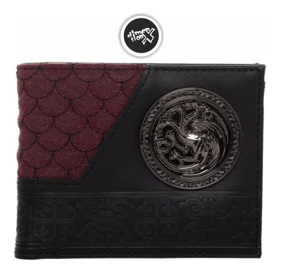 Cartera House Targaryen Game Of Thrones Bioworld Oficial