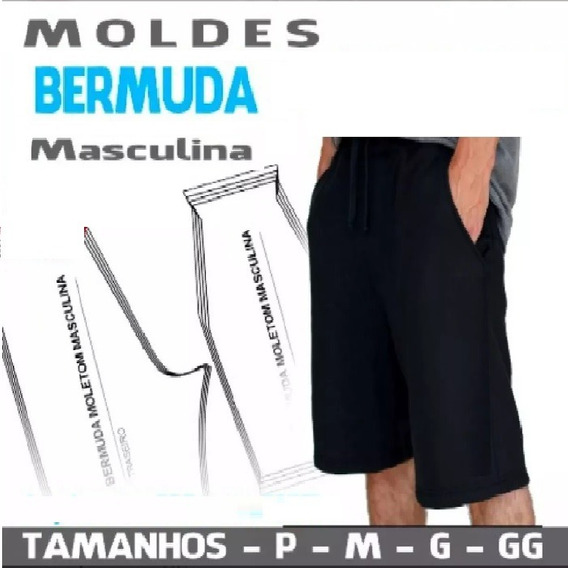 Kit Patrones Shorts Bermudas
