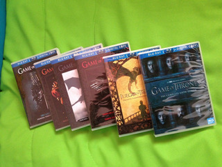 Game Of Thrones Bluray 7 Temporadas