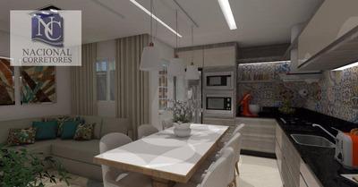 Cobertura Com 2 Dormitórios À Venda, 88 M² Por R$ 290.000 - Vila Pires - Santo André/sp - Co2773
