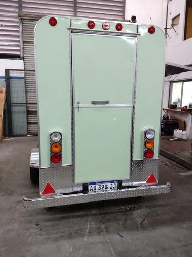 Food Truck 2.5 .mtrs  Homologado Patentable  Con Lcm .