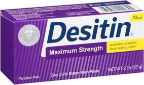 Pomada Desitin Maximum Strength Parabeno Free Assaduras 57g