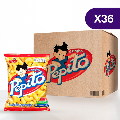 Pepito® Original De Frito Lay - Caja De 36 Unidades De 80g