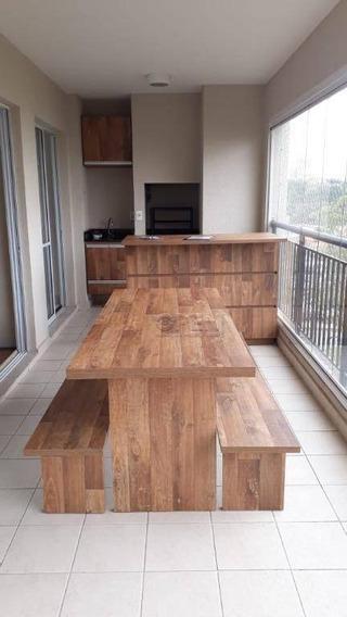 Apartamento Com 3 Dormitórios Para Alugar, 147 M² Por R$ 3.200,00/mês - Centro - São Bernardo Do Campo/sp - Ap10326