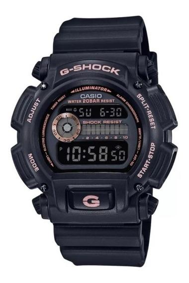 Relógio Casio Esportivo G-shock Dw-9052gbx-1a4dr Preto
