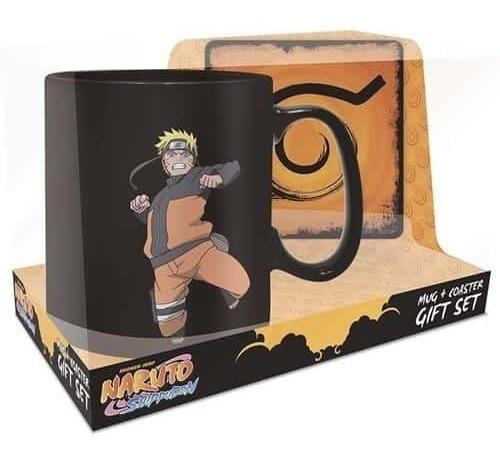 Set Taza Y Portavasos Naruto