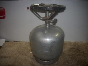 Bujaozinho /c Fogareiro Gas Vazio /c/ Registro Fecha /sortid