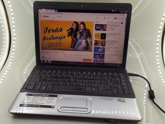Notebook Hp Compaq - 4gb Ram Funcionando Bem