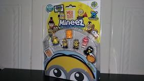 Kit Com 6 Miniatura Colecionável Minions Originais