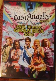 Casi Angeles En El Teatro Gran Rex 2009 Dvd Nuevo Cerrado