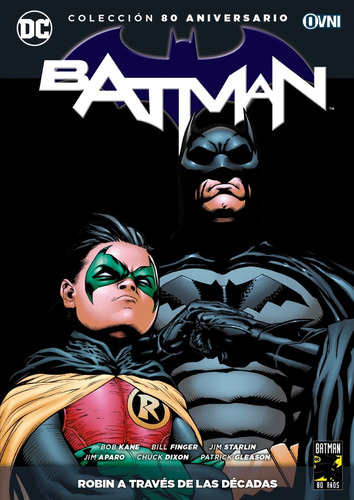 Imagen 1 de 1 de Cómic, Dc, Batman: Robin A Través De Las Décadas Ovni Press