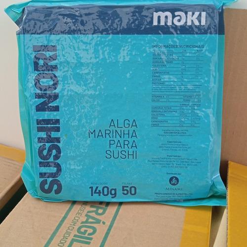 Imagem 1 de 1 de Algas Marinhas Nori Sushi