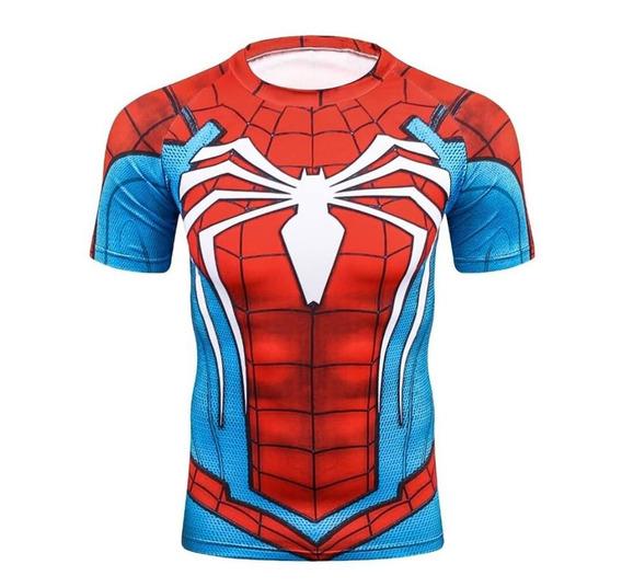 Playera De Spiderman New, Avengers + Envió Gratis