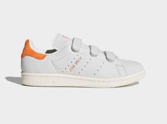 Tenis adidas Stan Smith Velcro Cf