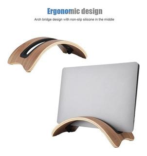 Samdi Arch - Soporte De Escritorio Para Macbook Pro (madera