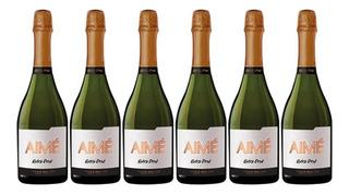 Champagne Aime Extra Brut X750cc Caja X6