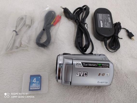 Filmadora Jvc Hm320 Full Hd
