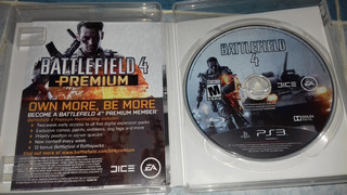 Battle Field 4 Ps3 (disco Físico Original)