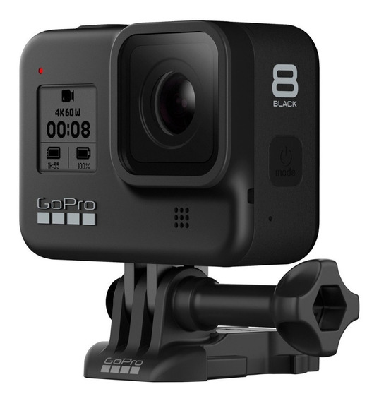 Câmera Digital Gopro Hero 8 Black 12mp 4k + Sd 64gb Samsung