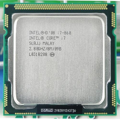 I7-860 Processador Gamer Intel Core 4 Núcleos 2.9ghz Lga1156