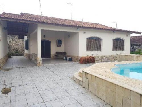 Casa Lado Praia Com Piscina E Edícula Em Itanhaém - 5683 npc