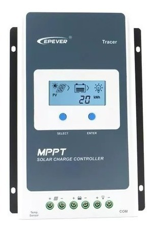Controlador Solar Tracer 20a 12v 24v Epever 2210a