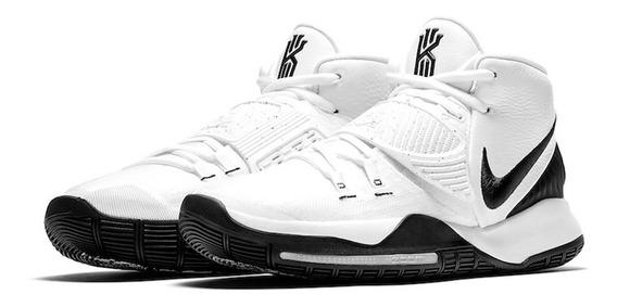 Tenis Nike Kyrie 6 Blanco-negro Talla #27½ Hombre Psd