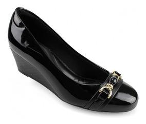 Sapato Anabela Feminino Modare 7324103 - Preto