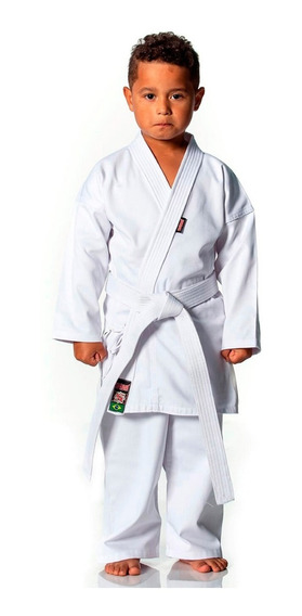 Kimono Karate Infantil Start Brim Algodão + Faixa Branca