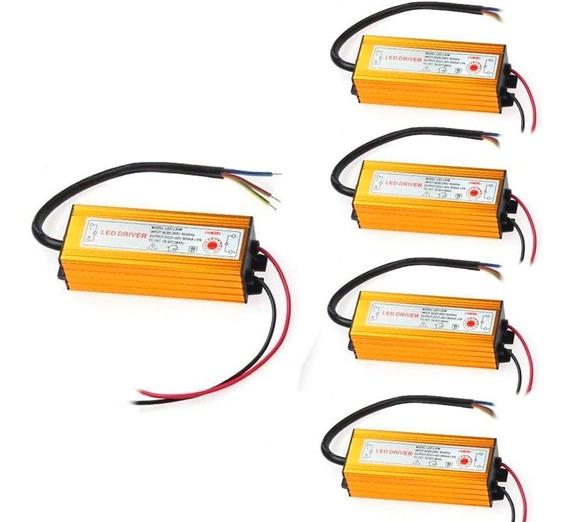 Kit 10 Reator Refletor 50w Drive Reposição Bivolt 100w 200w