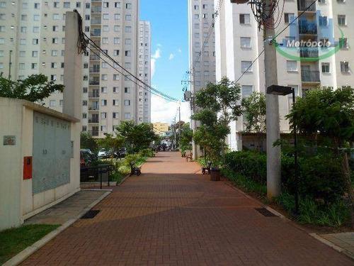 Apartamento À Venda, 56 M² Por R$ 280.000,00 - Cocaia - Guarulhos/sp - Ap1163