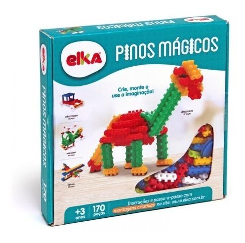 Pinos Mágicos 170 Peças Elka
