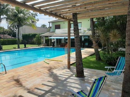 Chácara Com 3 Dormitórios À Venda, 1900 M² Por R$ 1.569.000,00 - Loteamento Chácaras Vale Das Garças - Campinas/sp - Ch0057