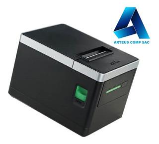 Zkteco Zkp8008 - Ticketera Termica 80mm - Arteus Comp Sac