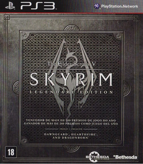 The Elder Scrolls V 5 Skyrim Legendary Ed Ps3 Playstation 3