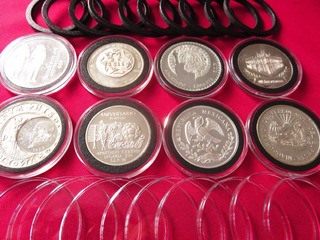 Cápsulas Premium Monedas 10 Piezas 35 37 38 39 40 41 42 Mm