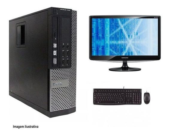 Computador Desktop Dell 7010 I7 4gb 240ssd Monitor 15