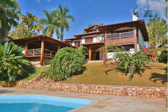 Casa Em Terreno Ponta De Quadra Com Linda Vista