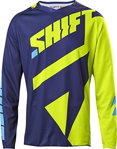 2017 Shift Black Label Mainline Jersey-flo Amarillo-l