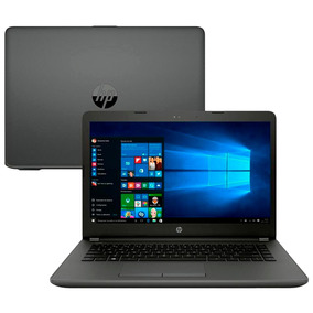 Notebook Intel I5-7200u 4gb 500gb Hp 246 G6 Tela 14