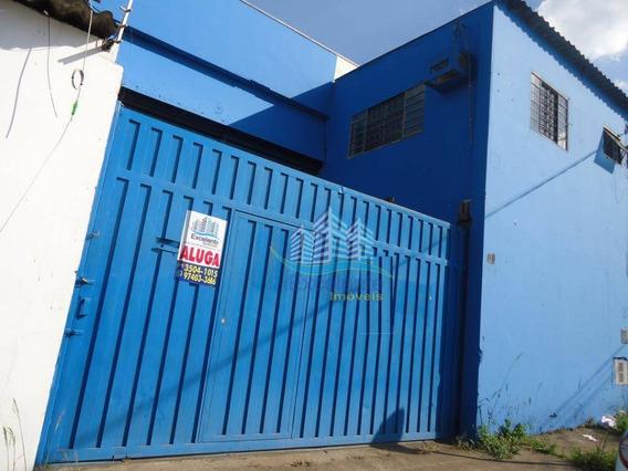 Galpão Para Alugar, 300 M² Por R$ 3.500/mês - Jardim Santana - Hortolândia/sp - Ga0026