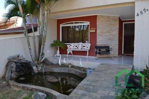 Casa Com 5 Dormitórios À Venda, 275 M² Por R$ 850.000,00 - Condomínio São Joaquim - Valinhos/sp - Ca0034