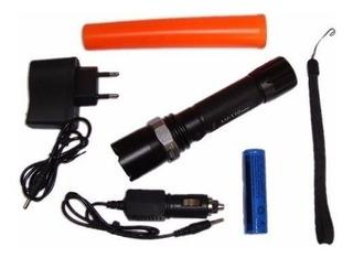 Lanterna Tática Led 800w Sinalizador - Trânsito, Bike E Etc.