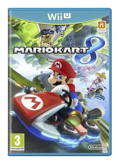 Mario Kart 8 Wii U Europeu Mídia Física Pronta Entrega