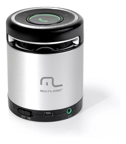 Mini Caixa De Som Portátil C/ Bluetooth Usb 10w - Sp155