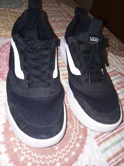 Zapatillas Vans Ultrarange Negras N° 37 Excelente Estado...