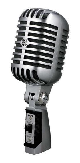 Microfone Shure 55SH Series II dinâmico cinza