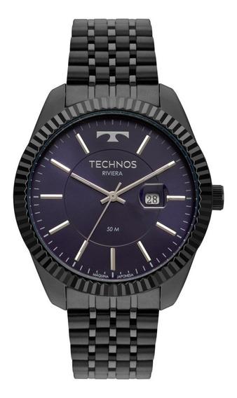Relógio Masculino Technos Riviera 2115msv/4a 46mm Grafite