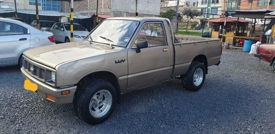 Camioneta Chevrolet Luv Con Platon 4x4 Motor 1.6 Mod 1983